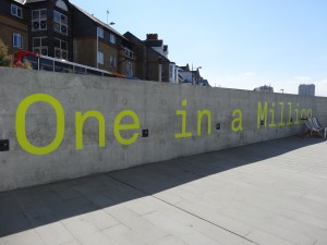 Turner Contemporary, welcoming their one millionth visitor.