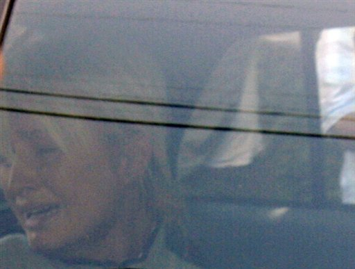 Nick Ut's photograph of Paris Hilton being taken to prison, 2007.