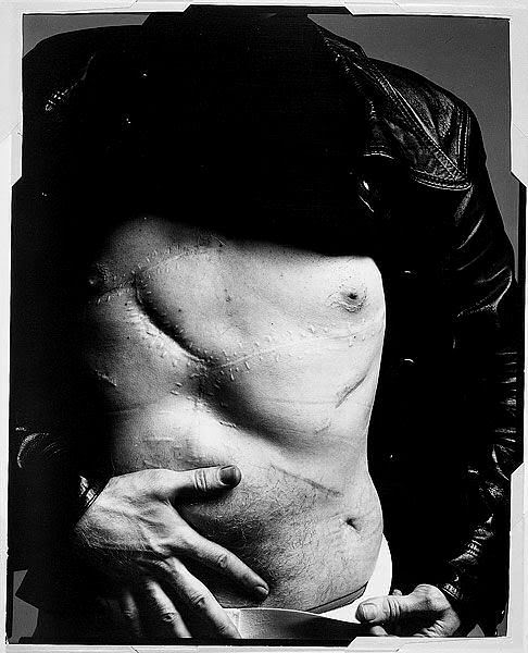 RIchard Avedon,  Andy Warhol,  1969.