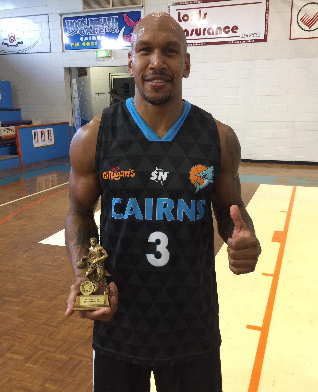 Tournament MVP Conrad 'CJ' Ah Wang