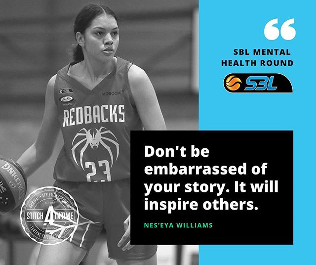 #REPRESENT ✊🏽 • Australian Indigenous Basketball All Star 🌟 Nes'eya Williams knows where it's at! 🏀 Be Proud! 🙌🏽 • • #TooDeadly ✌🏽 #OneMob ☝🏽 📸 PC: @wa_sbl_official / @astitchintime_au