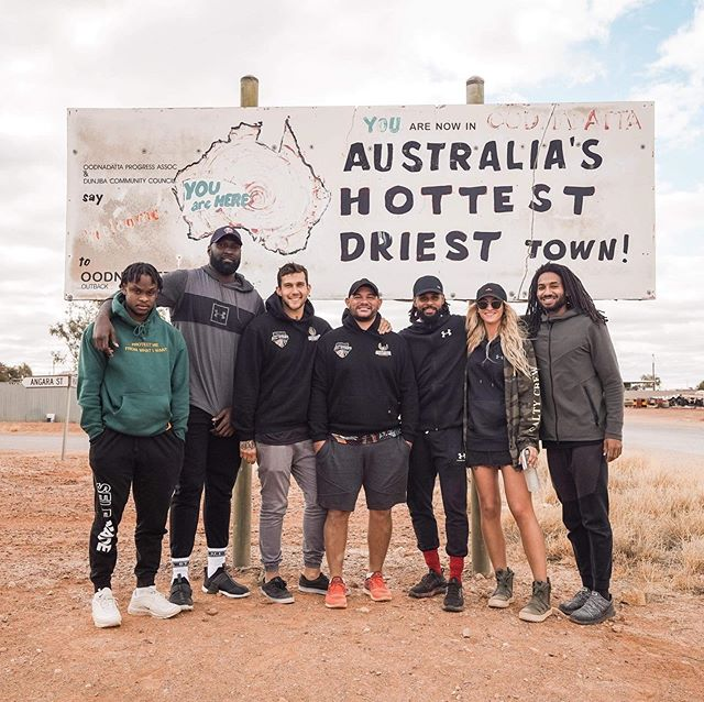 #COMMUNITY 🙌🏽 • Oodnadatta, Australia's 🇦🇺 hottest, driest town*... 🔥 • (*In summer, this pic taken in winter... ❄️) • What is AIB doing here? 🤔 #Stay tuned! 👀 • • #TooDeadly ✌🏽 #OneMob ☝🏽 #SOURCE