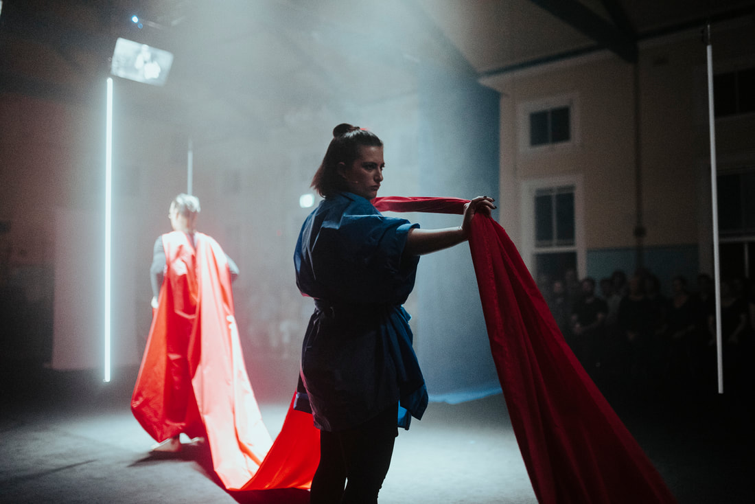 Image from Act I. Photo by Rachel Barrett