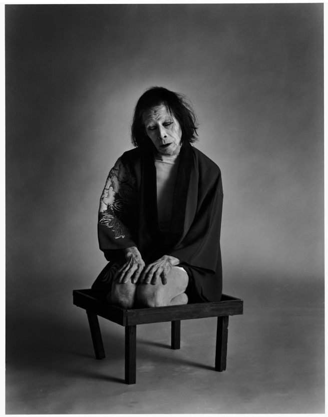 Kazuo Ohno  Co-founder of Butoh, started dancing when he was 40 and dance till 100 years old.   https://en.wikipedia.org/wiki/Kazuo_Ohno  (Photo: Eikoh Hosoe -  Kasuo Ohno  1980)