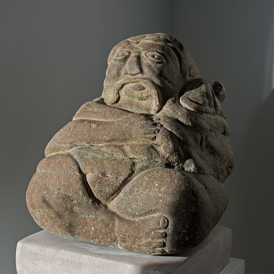 Buddha with Pet