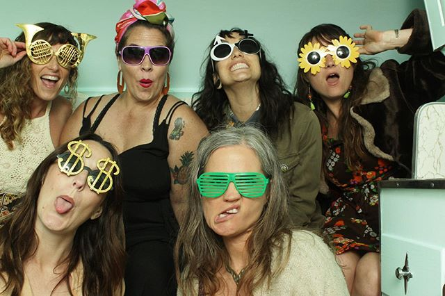 Think these ladies had fun?!?! They rocked our new Amazebooth Gypsy Rambler at a recent @dos_pueblos_orchid_farm wedding with @wild_heart_events and we couldn't be happier with how stinkin' cute that little guy is!