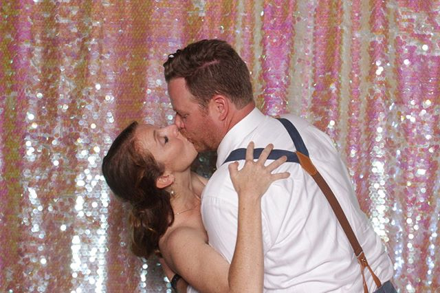 Pics from Courtney & Sean's turned out CRAZY fun! Our @amazeboothsb was an awesome addition to their @dos_pueblos_orchid_farm wedding reception and we were so happy to be a part of it!!