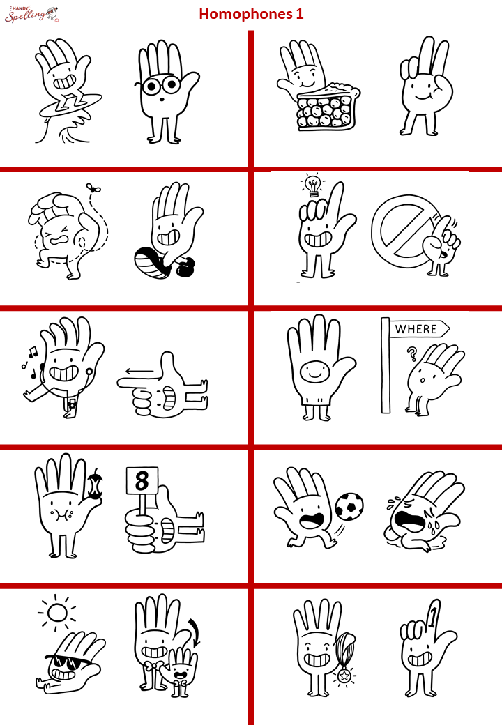 Homophones 1 - Visual Differentiation without Words.png