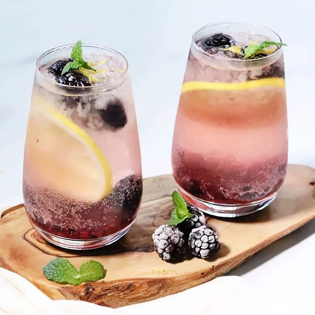 It's almost the weekend which means it's time to make this summer blackberry, lemon & mint sangria!🍹💕 Ingredients: 1 Bottle Sparkling White Wine 1/3 Cup Blackberry-Flavored Liquor  2 Crates Blackberries (Crushed at the Bottom and for Garnish) 1 Lemon & Lemon Zest Fresh Mint Leaves for Garnish Optional: Few Tablespoons of Organic Cane Sugar . . . #gatheredandglazed #drinkrecipe #sangria #sangriarecipe #happyhour #mixology #cocktails #blackberry #easyvegan #drink #drinks #thrivemags @thrivemags #veganfoodspace #f52farmstand @food52photography #plantbasedfoods #lifeandthyme @lifeandthyme #veganinspiration #lemon #drinkideas #drinkgoals #veganeats #cocktailrecipe #feedfeedvegan @thefeedfeed.vegan #feedfeedcocktails @thefeedfeed.cocktails #feedfeed @thefeedfeed