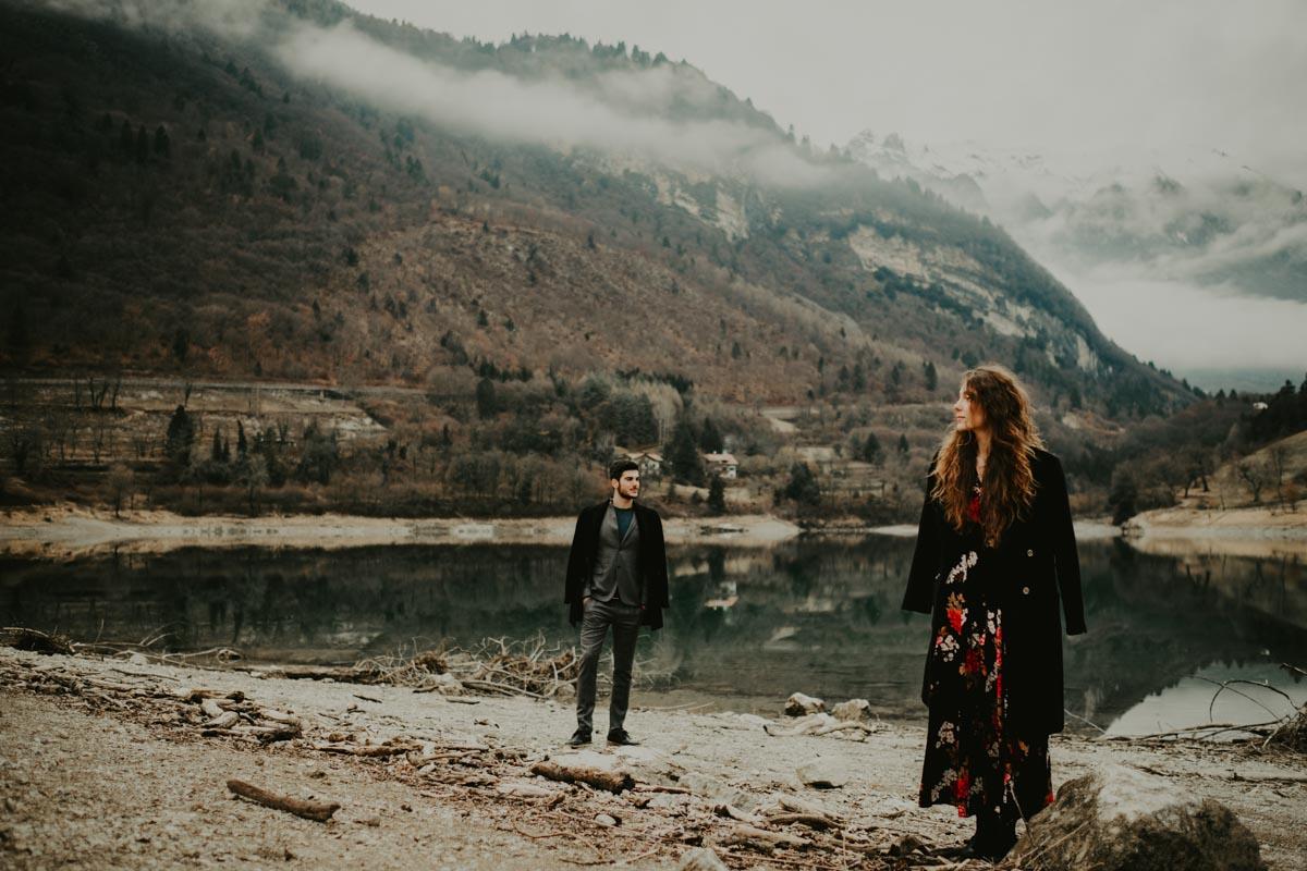 ENGAGEMENT IN SURROUNDINGS OF LAKE GARDA -