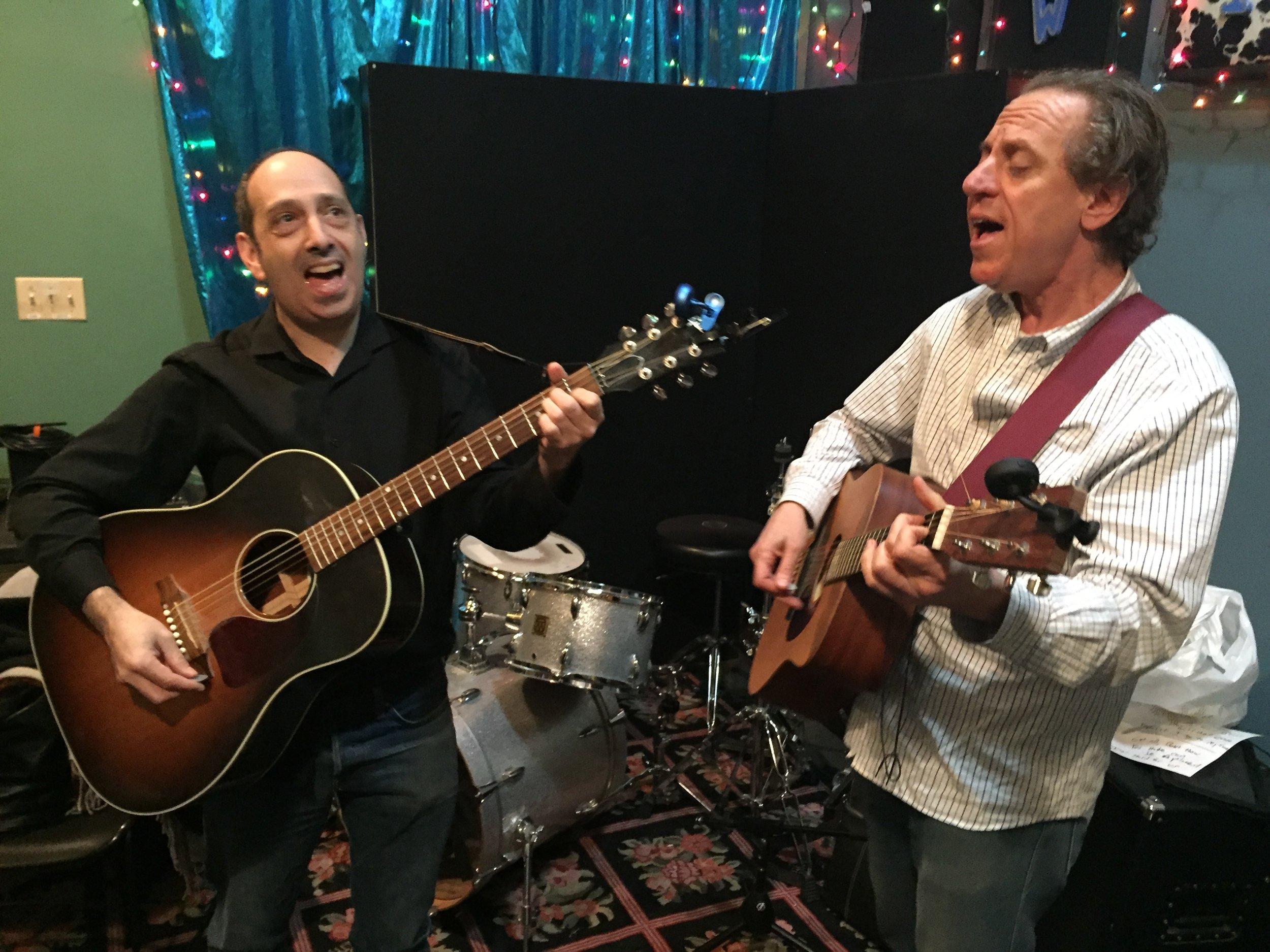 Dave & Lane at WFMU