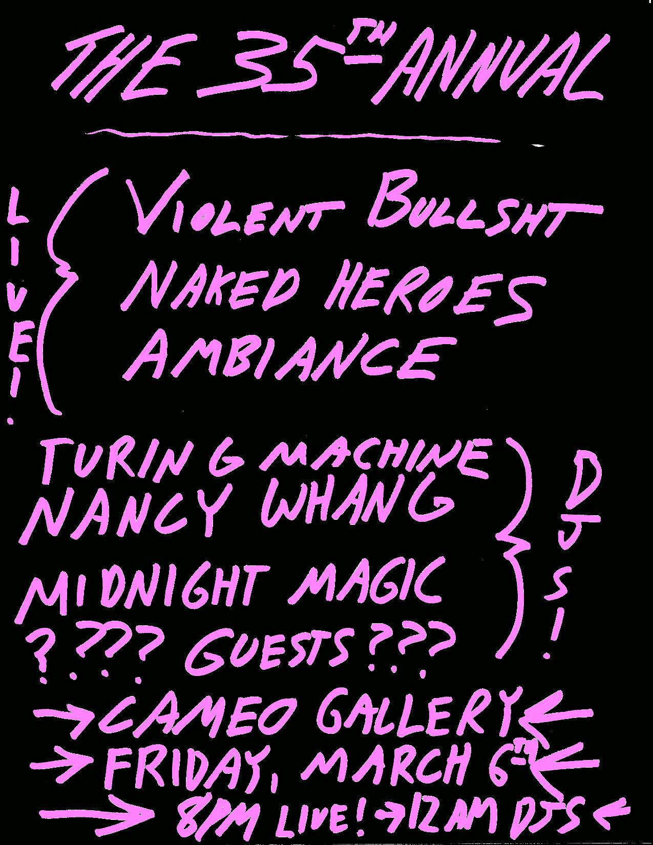 Naked Heroes_Cameo_Violent Bullshit_Nancy Whang