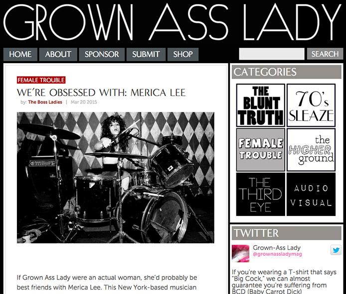 Merica Lee Grown Ass Lady