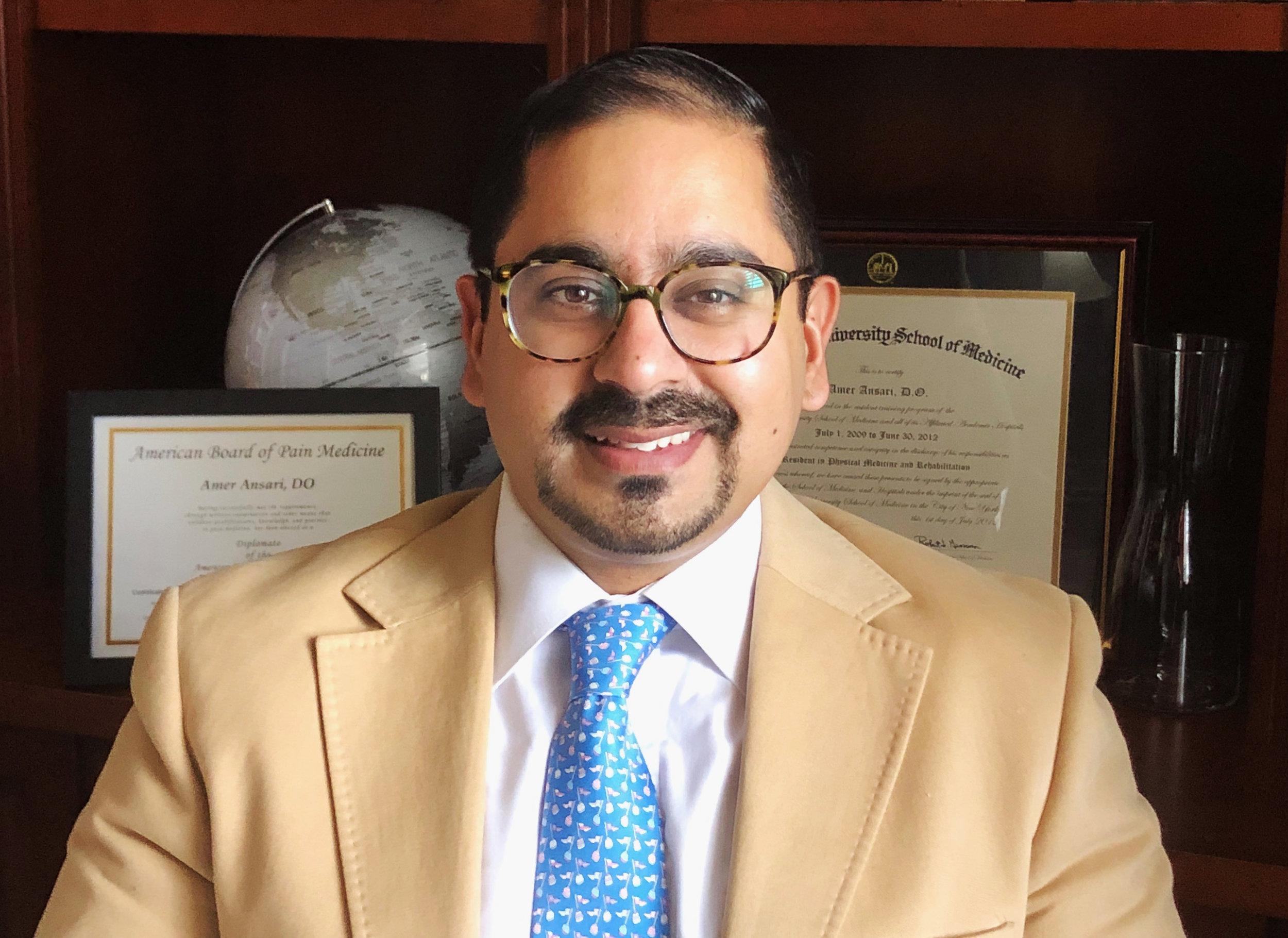 Amer Ansari, DO    View CV Resume