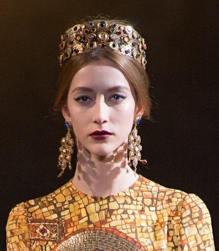 """Byzantine Princesses"" Dolce & Gabbana, Fall 2013 , Italy"
