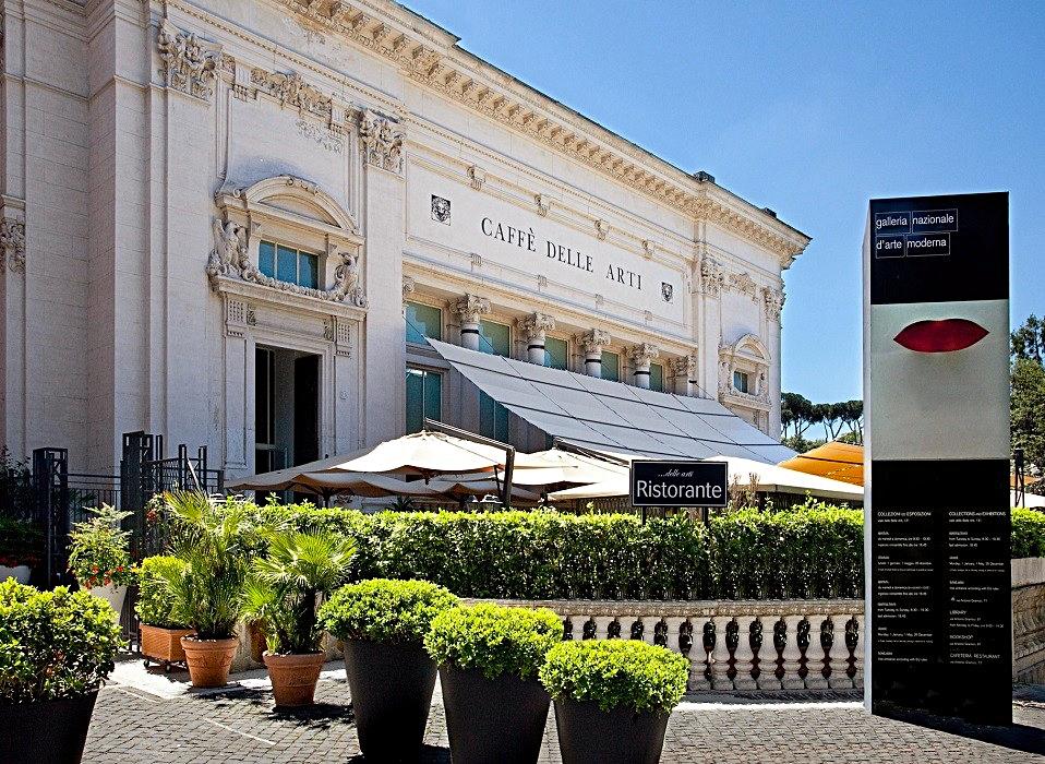Caffè delle Arti in Rome, Italy