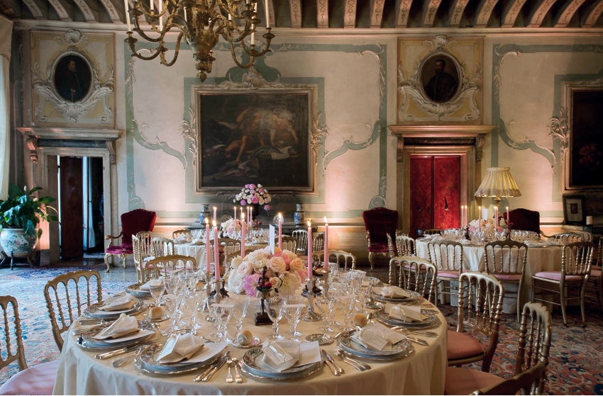Gala dinner in Venice