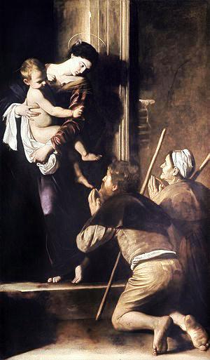 Madonna di Loreto  by Caravaggio, Rome