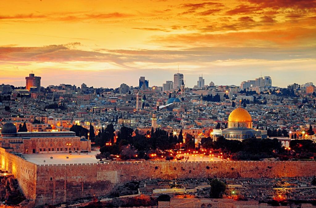Gerusaleme, Medio Oriente