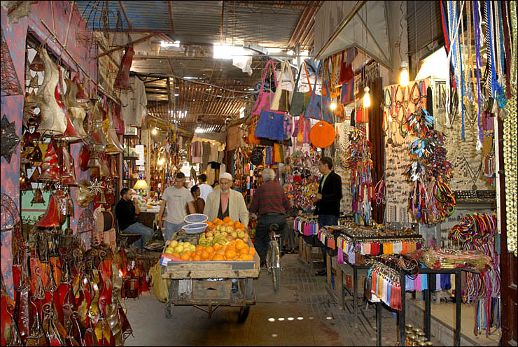 The medina of Marrakech