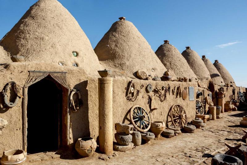 Dwellings in Harran, Upper Mesopotamia