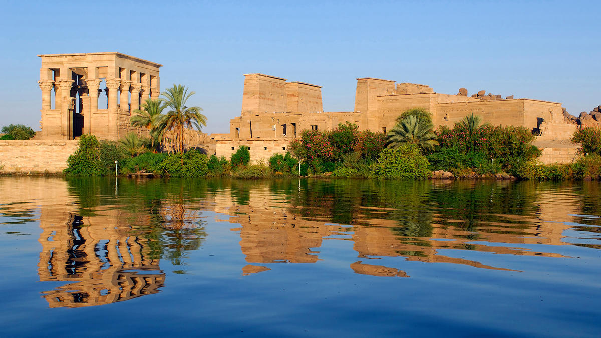 The Temple of Philae in Lower Egypt