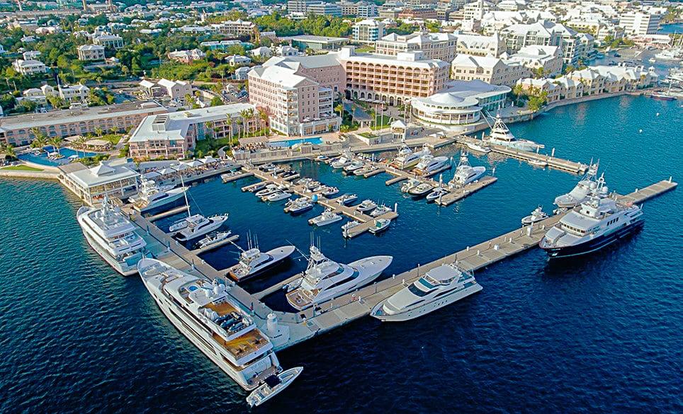 The Marina and the Hamilton Princess Hotel, Bermuda