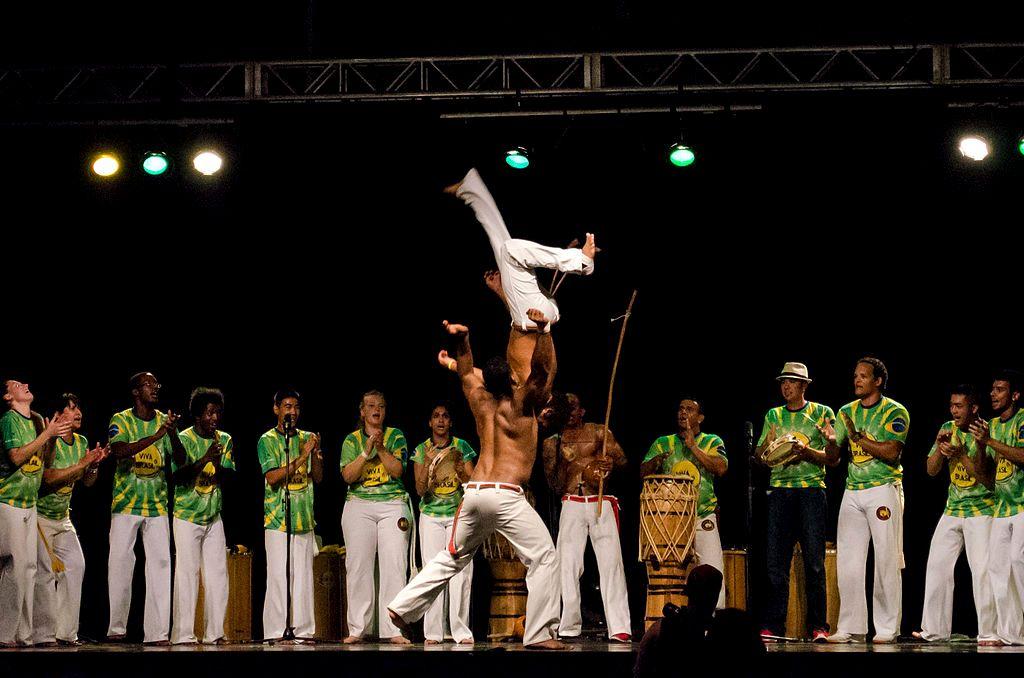 La danza di capoeira, Brasile
