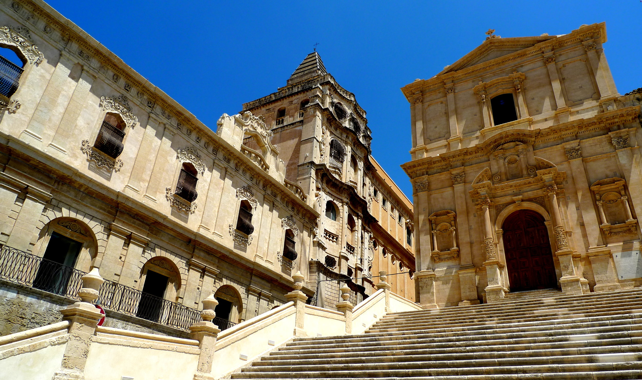 The baroque town of Noto, Sicily