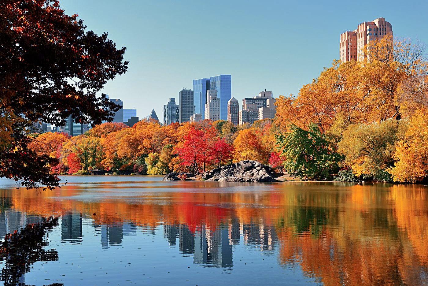 New York City in autumn