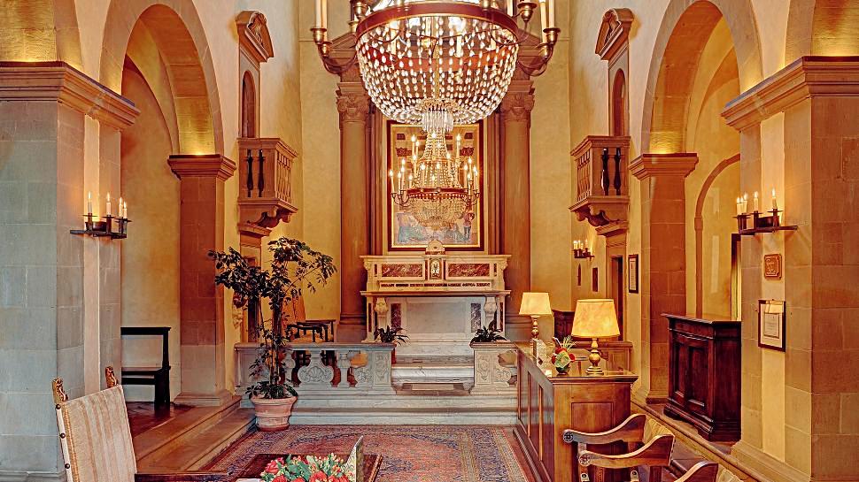 Villa San Michele interior, Florence