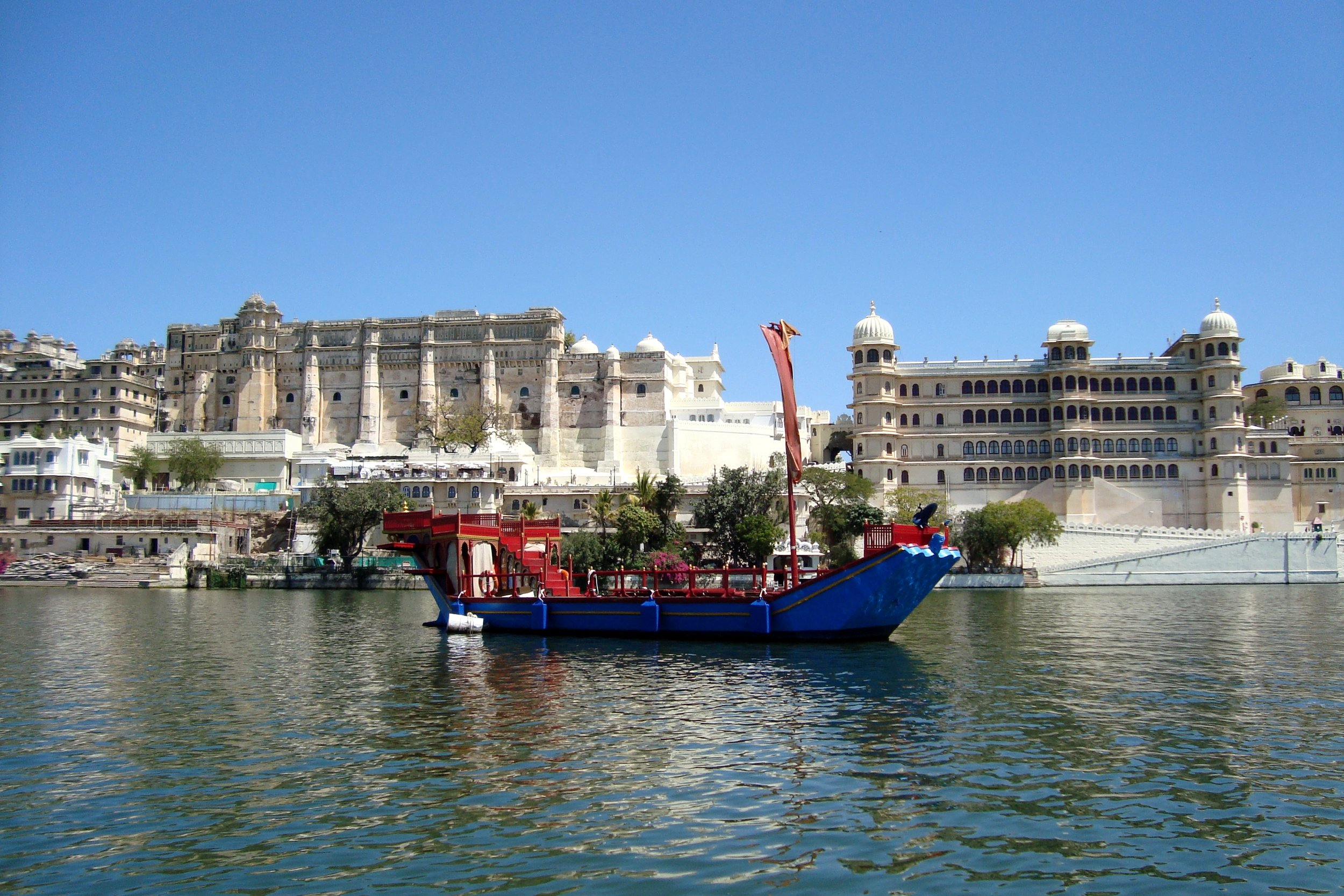 The City Palace of Udaipur, India