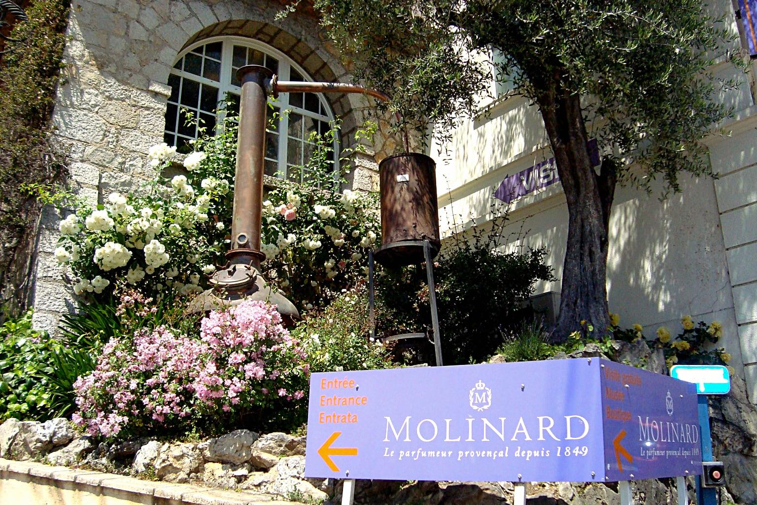 The Molinard Perfumery in Grasse, Provence