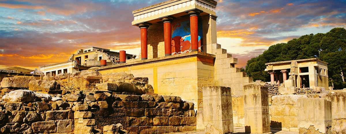 The Knossos Palace, Crete