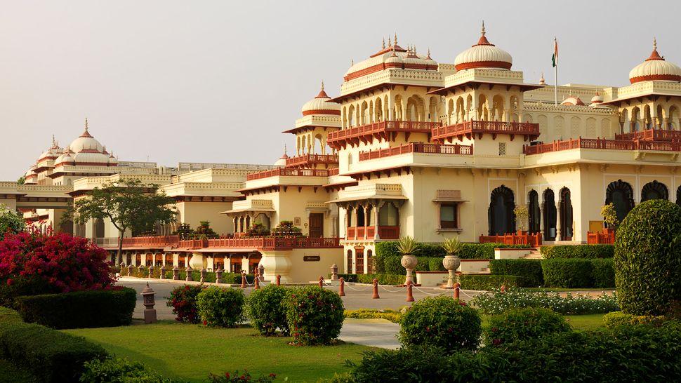 The Rambagh Palace, Jaipur, India