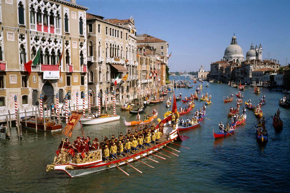 The Historical Regatta in Venice