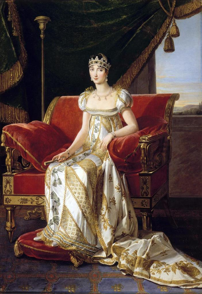 Pauline Bonaparte, Princess Borghese, Rome