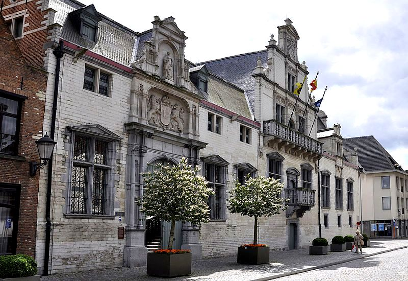 The Hôtel de Savoie in Mechelen, Flanders, Belgium