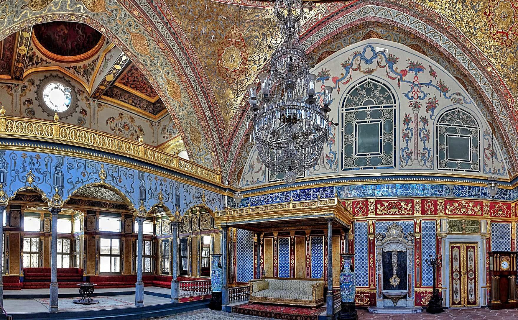 Il harem del palazzo di Topkapi a Istanbul, Turchia