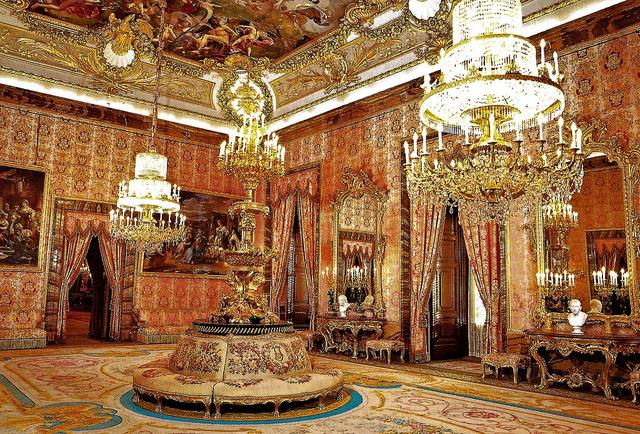 Il Palazzo Reale di Madrid, Spagna