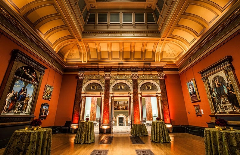 The National Gallery in London - Courtesy: Wise Productions