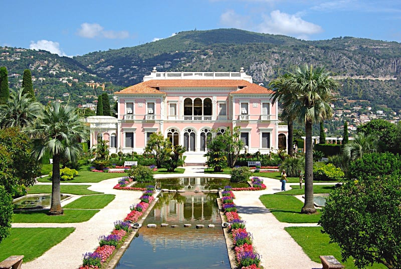 La Villa Rothschild in Cap-Ferrat, Costa Azzura, Francia