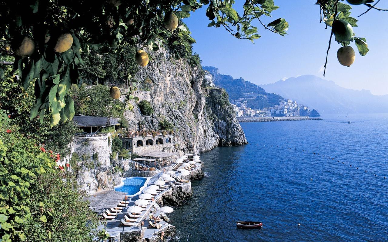 The Hotel Santa Caterina in Amalfi