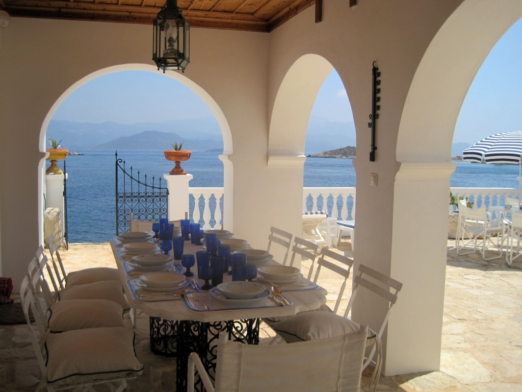 The Admiral's House in the island of Kastellorizo, Dodecanese, Greece