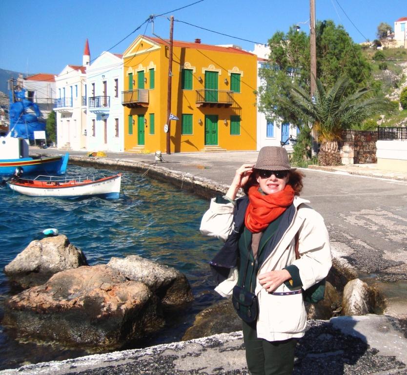 Strolling around Kastellorizo, Dodecanese, Greece