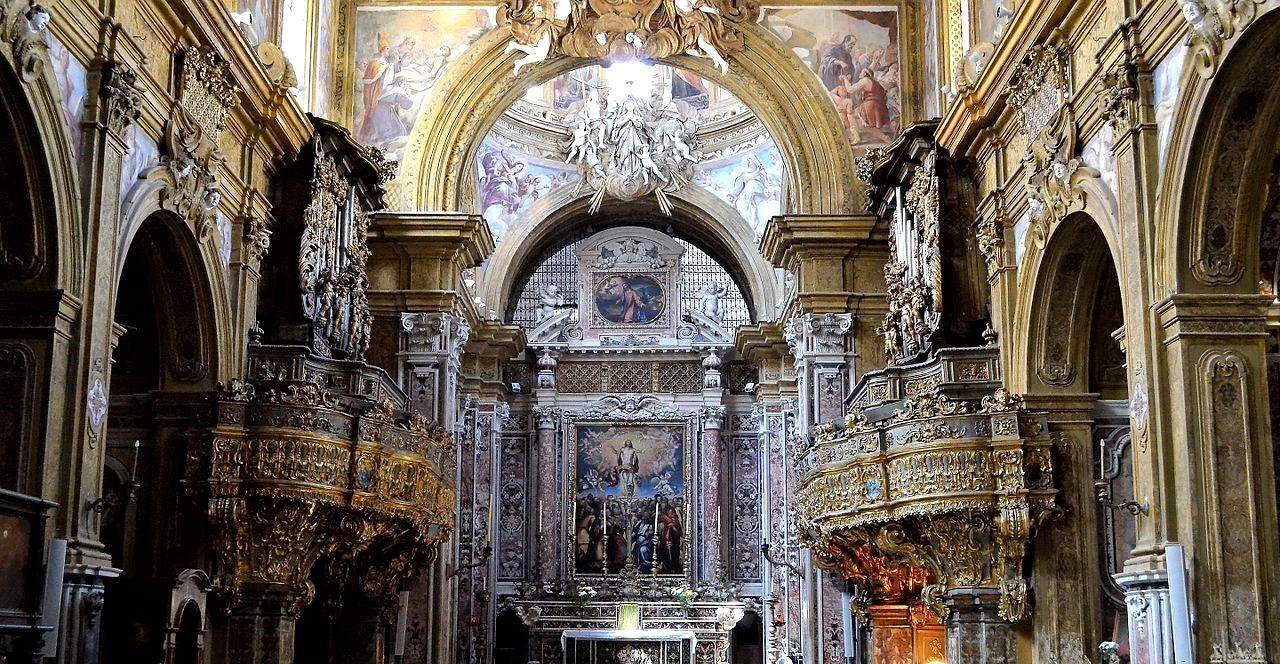 The interior of the church of San Georgio Armeno, Naples - Courtesy: Giuseppe Guida