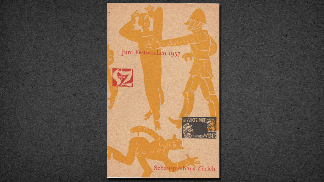 ALCESTIAD, ZURICH PERFORMANCE PROGRAM, 1957