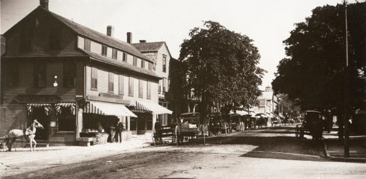 Another, somewhat older, photo of the store. c. 1890's