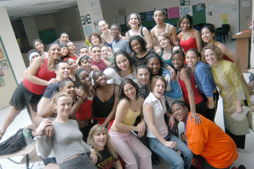 Urban Arts - Urban Arts (2003-2010) was a volunteer project that filled the immediate needs of the music program at the High School of Environmental Studies (HSES), an underserved public school in New York City's Hell's Kitchen. Our priorities included:Bringing in professional New York City choreographers, actors, directors, casting agents, pianists, costumers and photographers to work with the students as teaching artists. We ran a variety of workshops, photo sessions, master classes, and rehearsals; all of which were coordinated through Statement Arts. Thanks to these generous teaching artists, HSES was able to put up six full scale musical productions, including A Chorus Line, Bye Bye Birdie, Little Shop of Horrors, Pippin, The Wiz, and Annie.We also provided our students with the opportunity to perform for broader audiences. Statement Arts raised money, enabling several performing groups to compete in national music festivals.