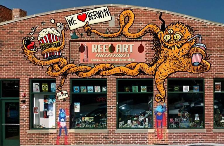 Monsterous Mural -